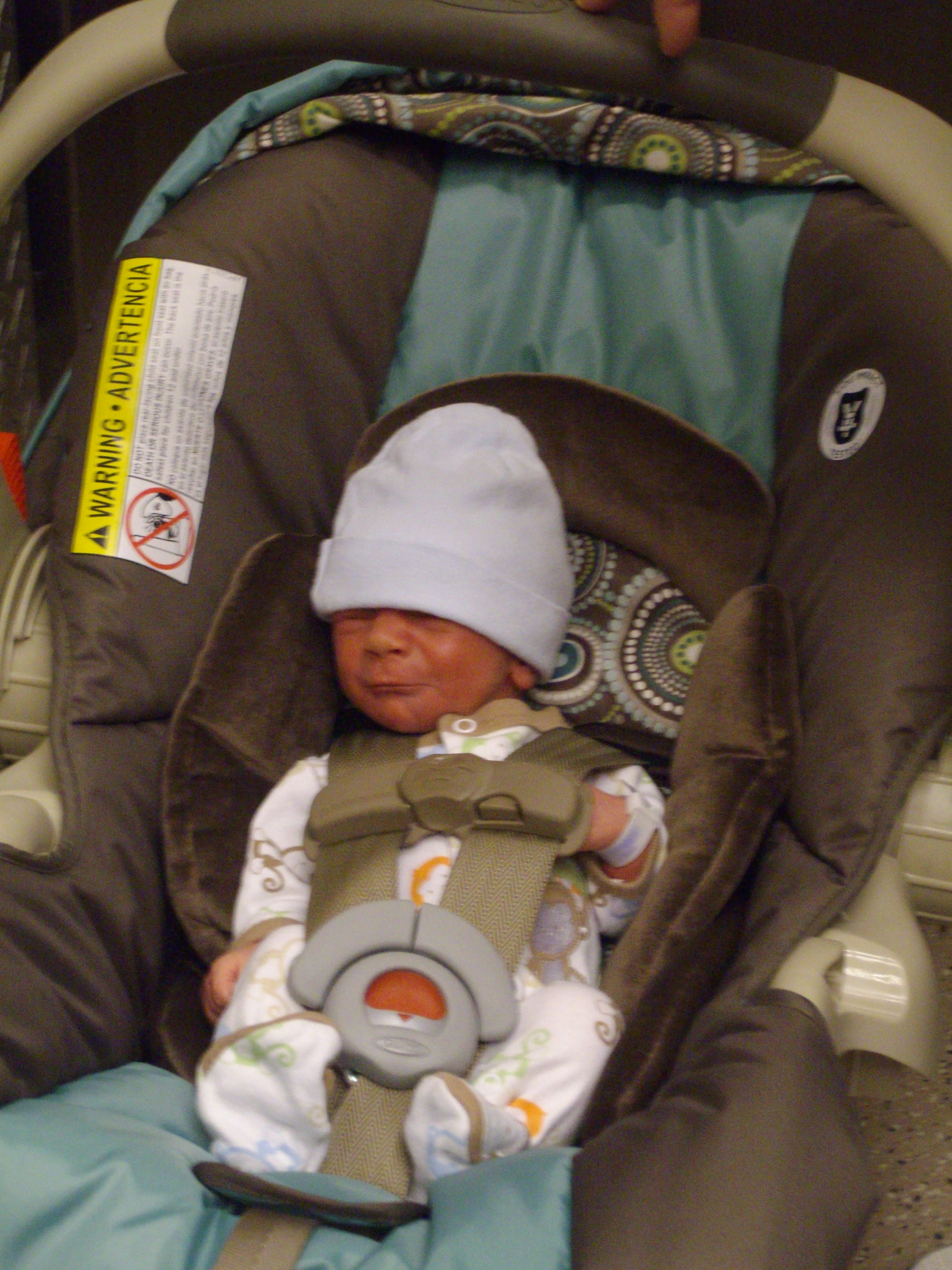 Jackson Was A Tiny Baby 5 Lbs 11 Oz The Car Seat