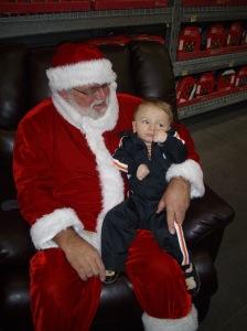 Santa and Jackson